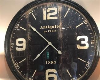 Restoration Hardware Clock