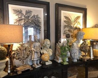 Amazing selection of statues art and lamps from Restoration Hardware  West Elm  All Modern Pottery Barn