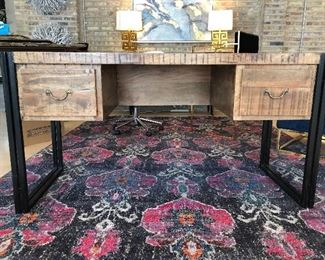 2 gorgeous wood desks