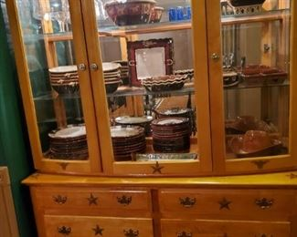 China Cabinet.  2 Pieces