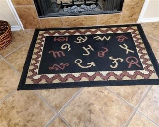 Ranch Style Rug.  Not for your head though