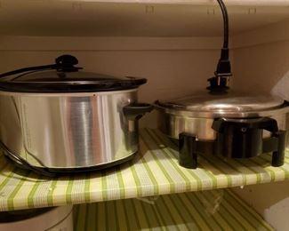 Crock Pot and Salad Master