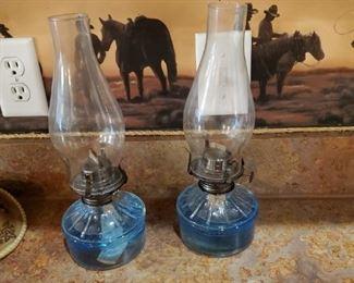 Kerosene Lamps.  I think I am stealing one.