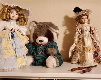 Scary Doll Lady will show up for these.  Beautiful dolls, but this woman that buys them from me scares the hell outta me.