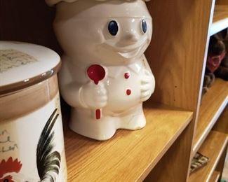 Pillsbury Dough Boy Cookie Jar.