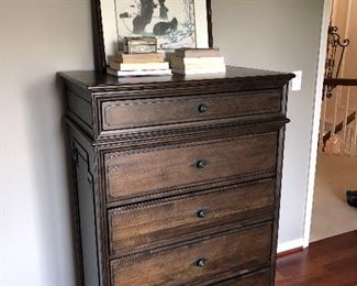 5-drawer tall chest by Restoration Hardware
