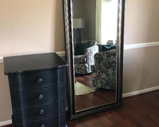 Restoration hardware 4 - drawer chest and floor mirror