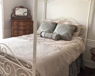 Iron Canopy Bed