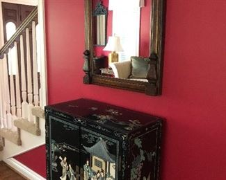 Asian Chest and large mirror