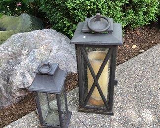iron lanterns
