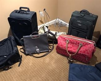 Tumi briefcase and other luggage