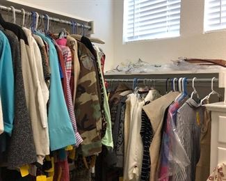 A sampling of the clothes.