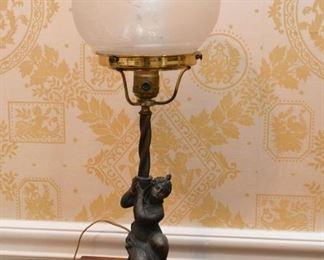 Antique Figural Table Lamps