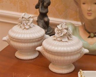 Porcelain Covered Bowls