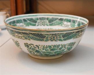 Chinese Porcelain Serving Bowl