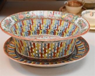 Chinese Porcelain Berry Bowl