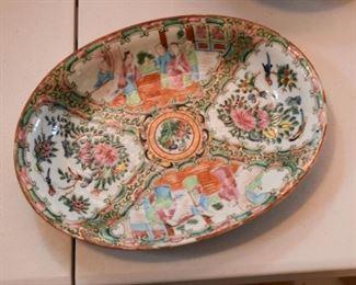 Famille Rose Porcelain Platter