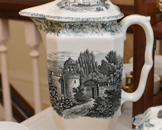 Transferware Coffee Pot / Teapot