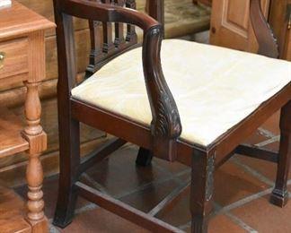 Antique / Vintage Wood Carved Chair