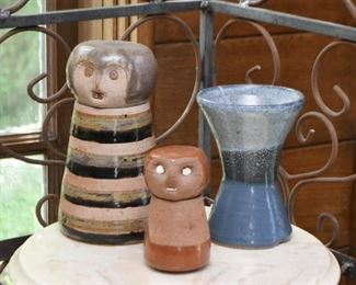 Studio Pottery, Vases and Jars