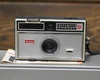 Vintage Kodak Instamatic 104 Camera