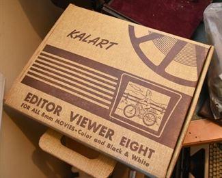 Vintage 8mm  Film Editor Viewer