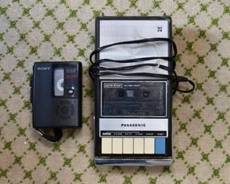 Panasonic Cassette Tape Recorder
