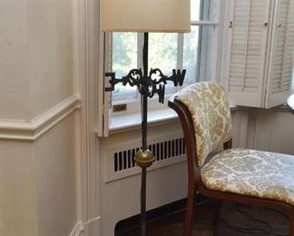 Modified Weather Vane Floor Lamp