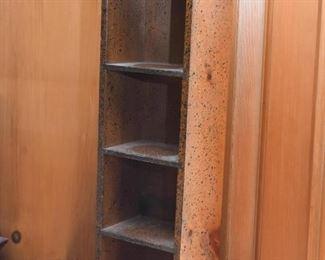Primitive Wood Display Curio / Cubby