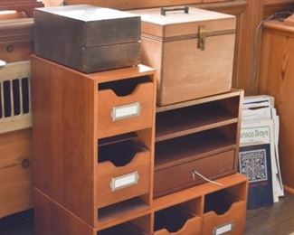 Various Wood Storage Boxes