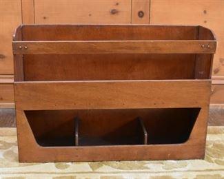 Small Desktop Bookshelf / Wooden Rack