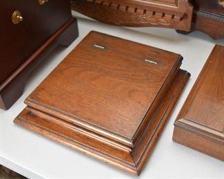Oak Hinged Box / Writing Desk