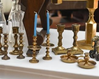 Brass Candlesticks / Candle Holders