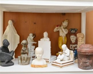 Figurines, Statues, Bookends