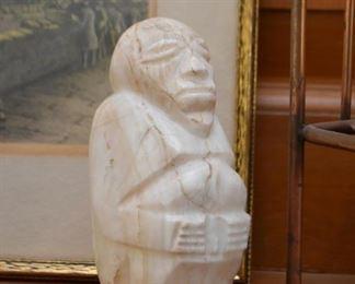 Carved Stone Ethnic Figurine
