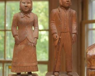 Folk Art Wood Carvings / Statues / Figurines
