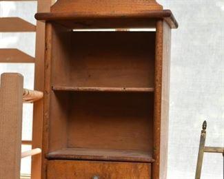 Primitive Wooden Curio