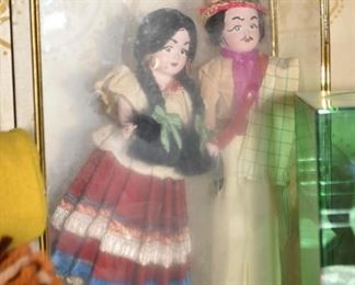 Vintage Ethnic Dolls