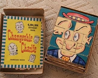 Changeable Charlie Puzzle / Toy