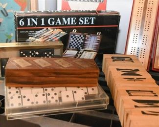 Dominoes and Various Games