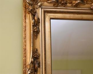 Ornate Gold / Gilt Framed Mirror