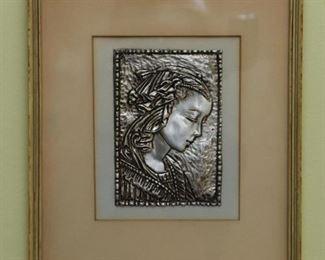 Framed Artwork - Metal