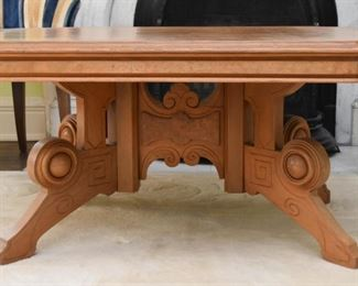 Antique Victorian / Eastlake Coffee Table