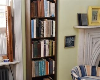 Tall, Narrow Bookshelf / Bookcase (1 of 2)