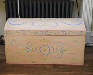 Hand Painted Treasure Chest / Trunk