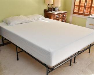 Bed Frame, Foam Mattress