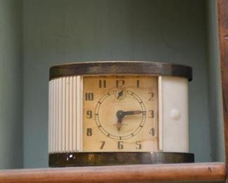 Art Deco Travel Alarm Clock
