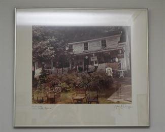 Framed Art Photo / Photograph, Signed
