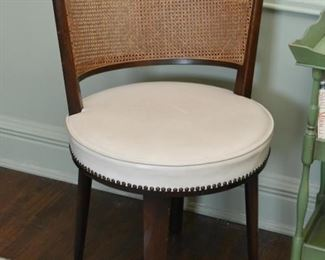 Cane Backed Vanity Chair