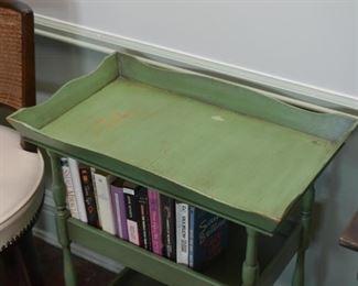 Vintage 3-Tier Tray Top Table